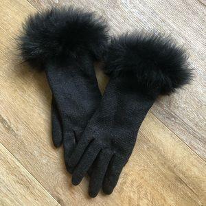 Ugg Fur Gloves